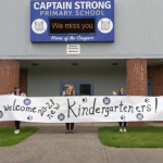 Captain Strong's kindergarten teachers welcome next year's students